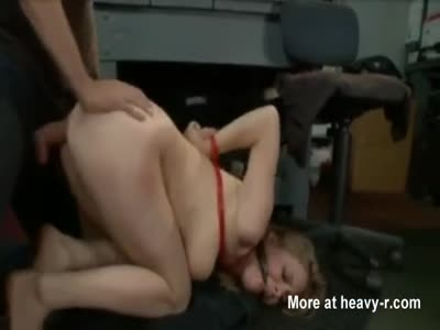 Forced sex in the garage